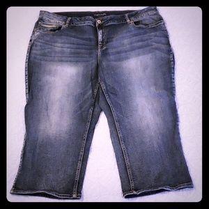 Size 24 Capri Jeans